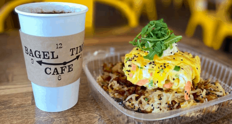 Bagel Time Cafe Named Best Bagel Shop!