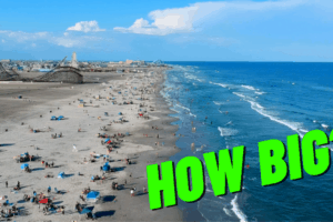 How Big Are the Wildwood Beaches?