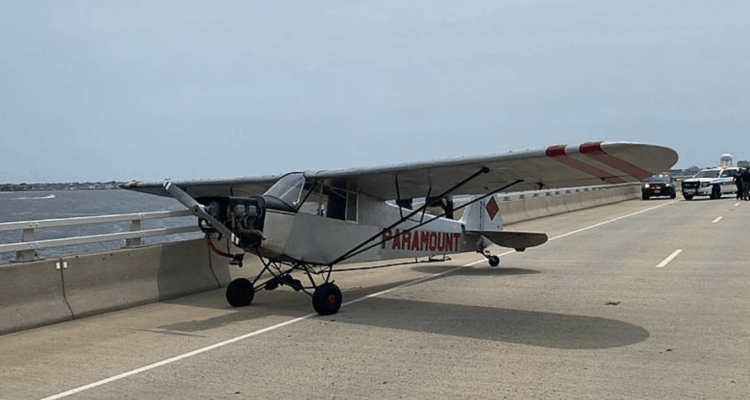 Banner Plane Makes Emergency Landing In Ocean City