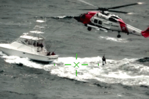Watch Coast Guard Rescue Off Cape May