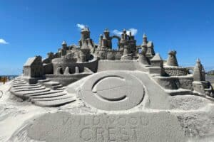 Wildwood Crest Sand Sculpting Festival Photos and Videos
