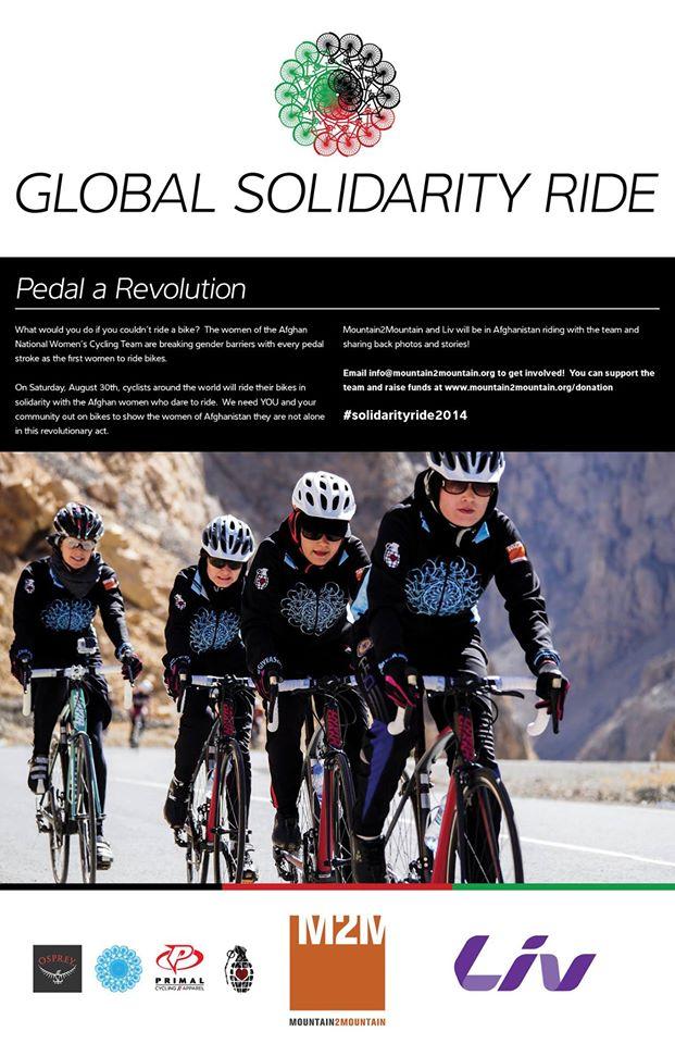 Poster Global Solidarity Ride