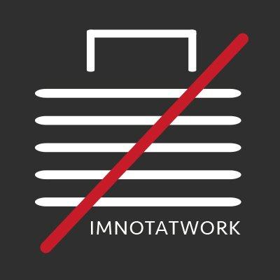 Im Not At Work Logo