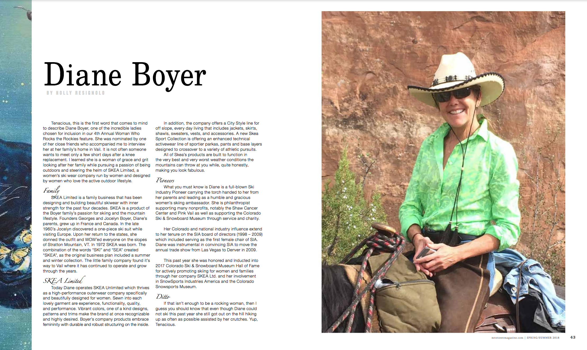 Diane Boyer – Article