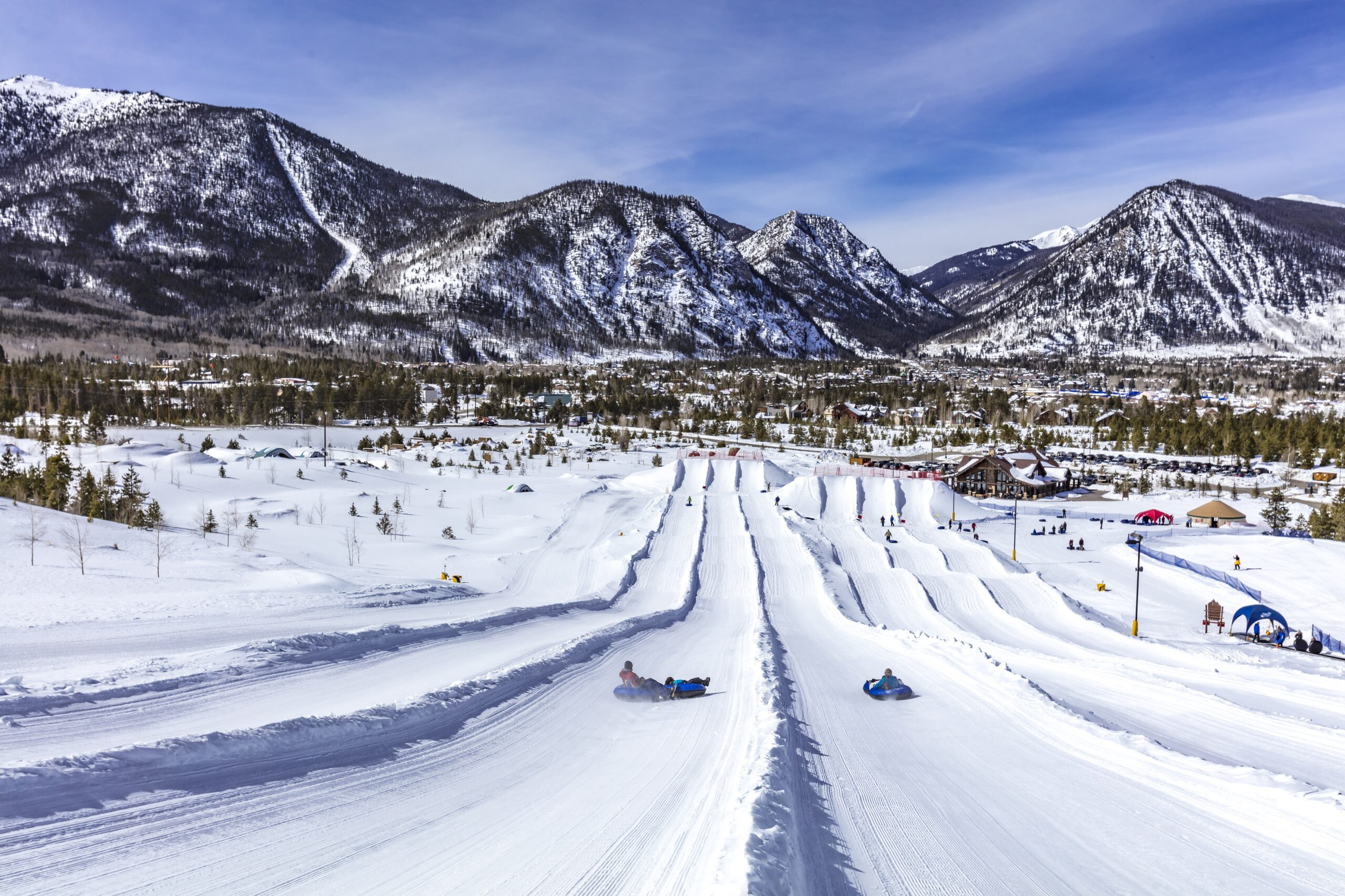 Snow Tubing Hill at the Frisco Adventure Park, Frisco, Colorado