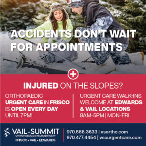 Vail Summit Ortho Urgent Care