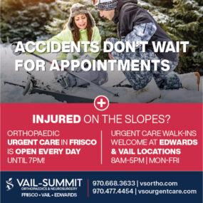 Vail Summit Ortho Urgent Care