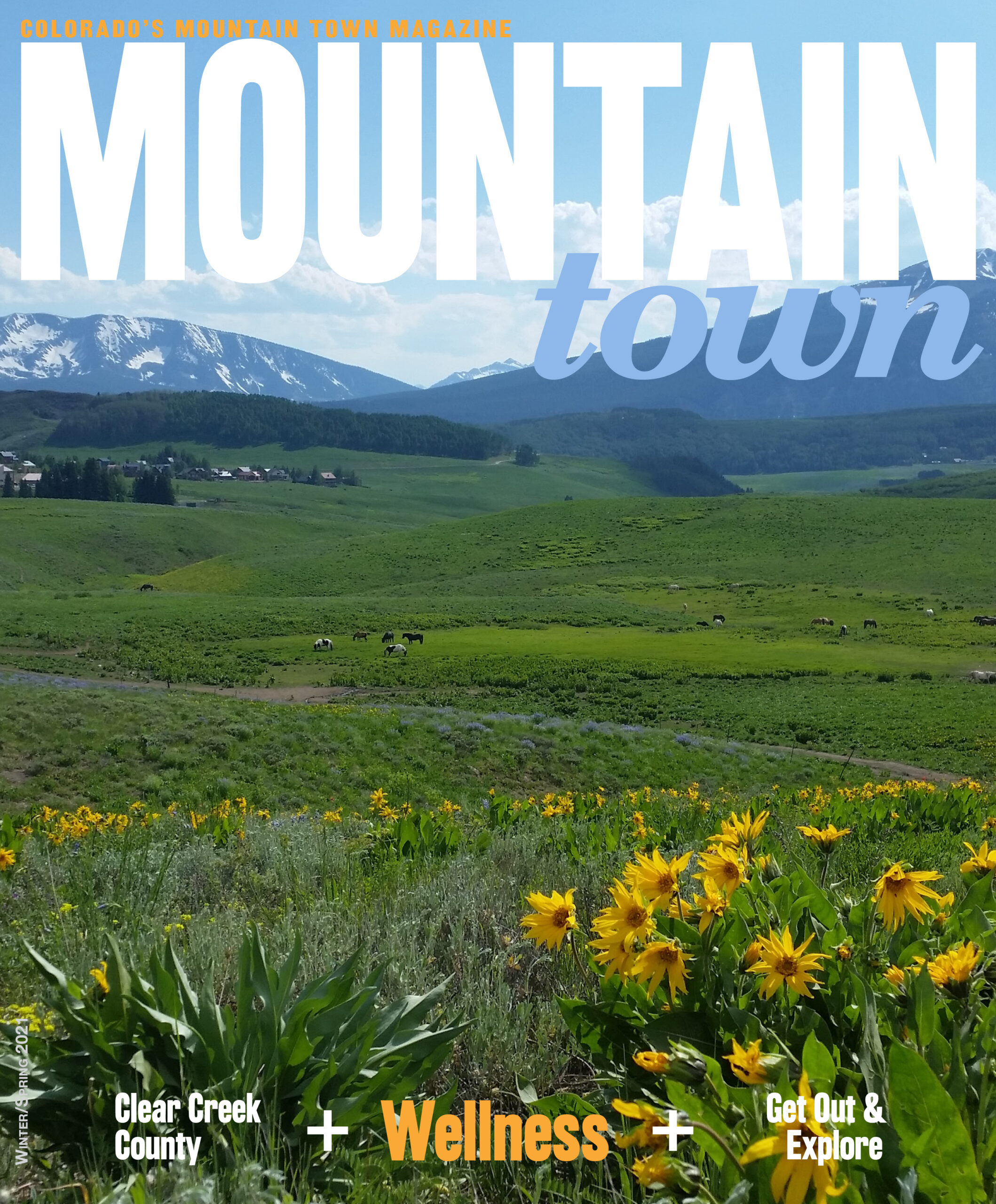 Mountain Town Magazine WinterSpring 2021 Cover