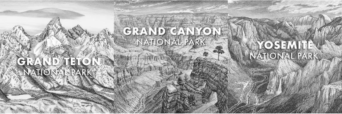 James Niehues National Park Art
