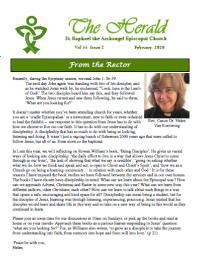 Feb. 2020 Herald Newsletter