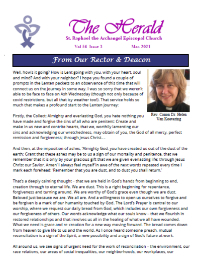 March 2021 Herald Newsletter
