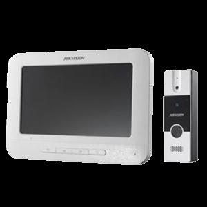 "KIT DE VIDEOPORTERO CON PANTALLA LCD A COLOR DE 7"" DS-KIS202"