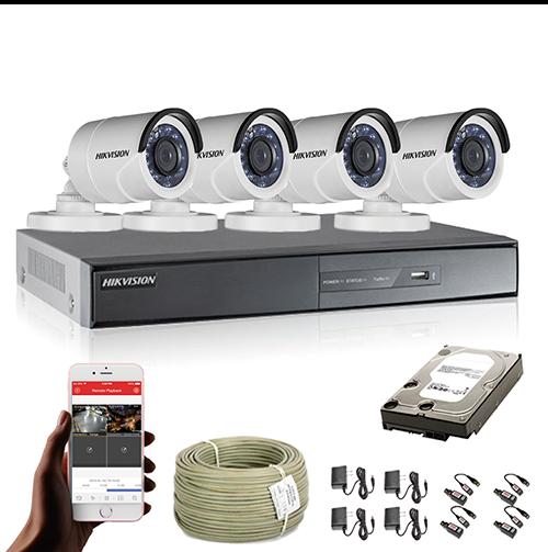 KIT CCTV HIKVISION TURBO HD 1080P KIT-17