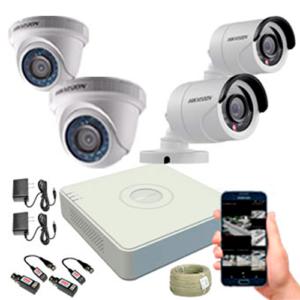 KIT CCTV HIKVISION MINI DVR TURBO KIT-7