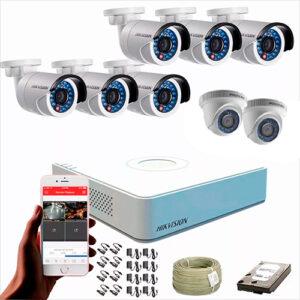 KIT CCTV HIKVISION DVR FULL HD 1080P KIT-6