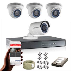 KIT CCTV HIKVISION DVR TURBO HD 720P KIT-8