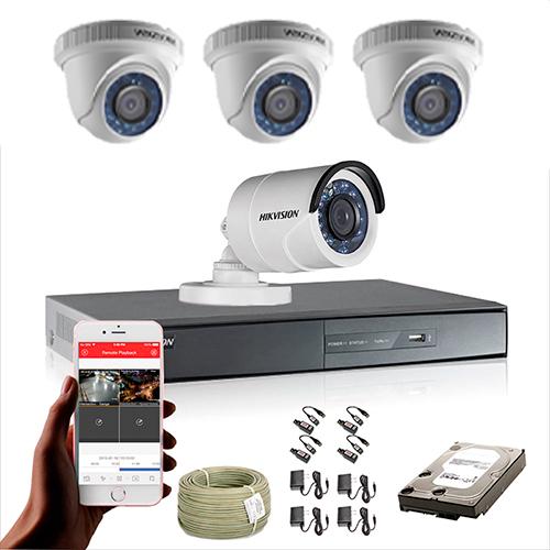 KIT CCTV HIKVISION DVR TURBO HD 720P KIT-18