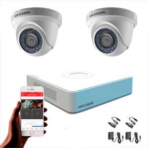 KIT CCTV HIKVISION MINI DVR TURBO KIT-10