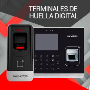 Terminales con Huella Hikvision