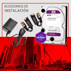 Accesorios de Instalación