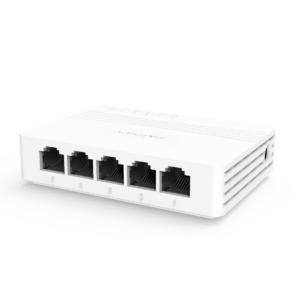 Switch No Administrable de Escritorio 5 puertos Gigabit 10/100/1000 Mbps