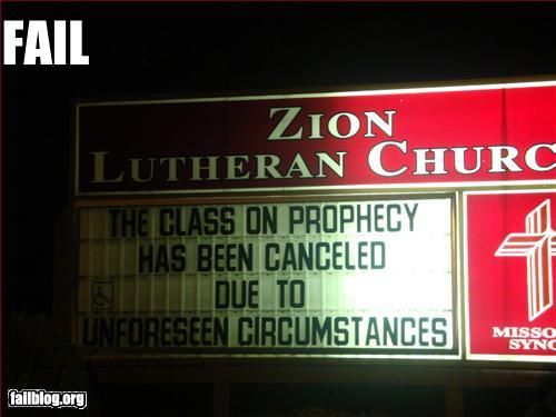 Funny Church Sign...Truth In Advertising