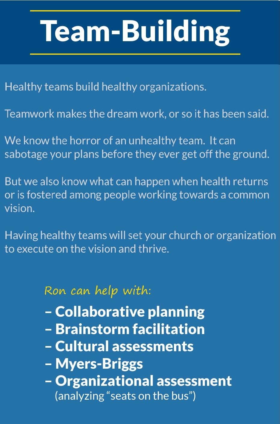 5T Leadership - Team Building