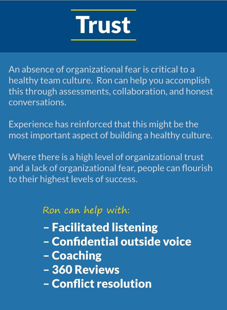 5T Leadership - Trust