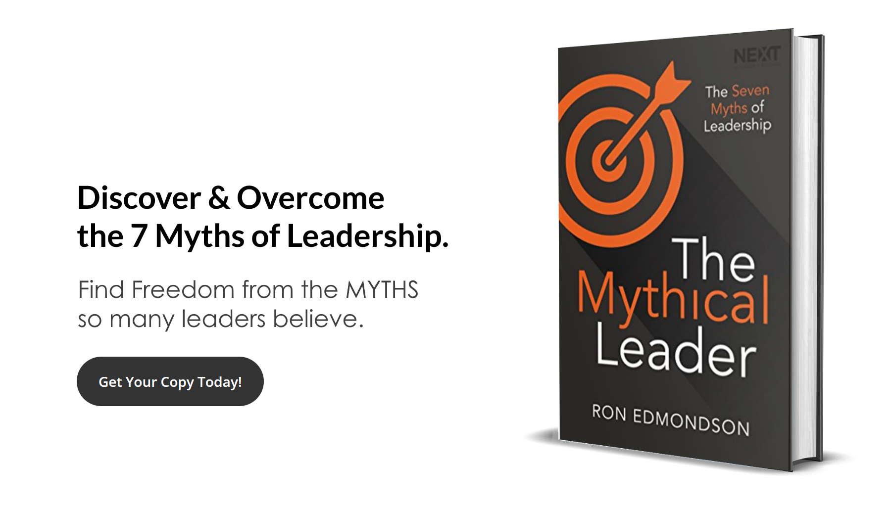 The 7 Myths of Leadership - Ron Edmondson