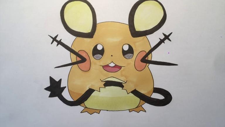 how-to-draw-dedenne-pokemon-step-14