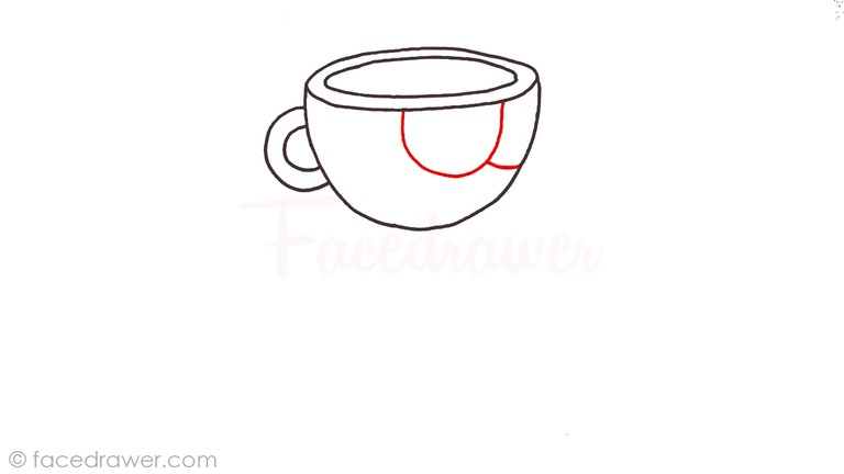 how to draw cuphead step 3