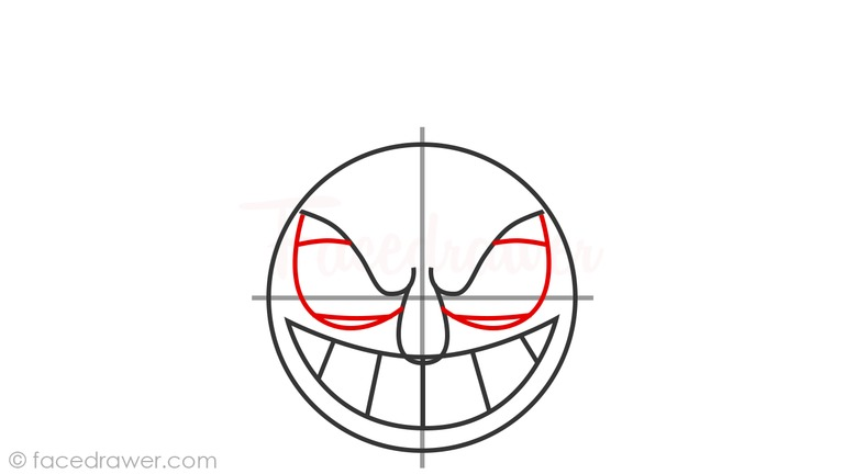 how to draw the devil from cuphead step 6