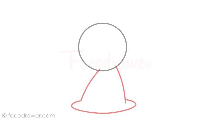 how to draw mimikyu step 2