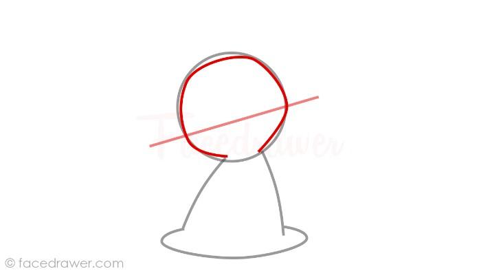 how to draw mimikyu step 3