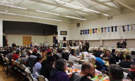 Merced County Rescue Mission hosted their Thanksgiving banquet