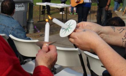 Homeless Memorial Service at Applegate Park in Merced
