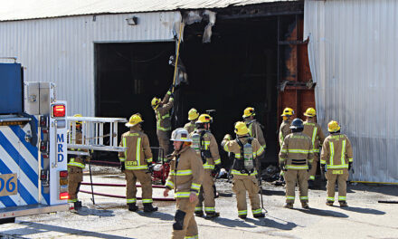 Commercial building catches fire in Livingston, section of Main Street shutdown
