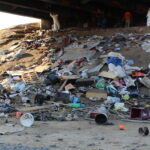 Homeless encampment removed under Childs Avenue overpass