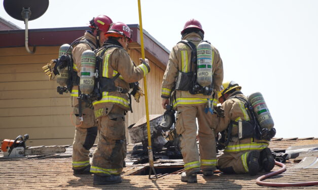 Firefighters respond to Motel fire in Livingston