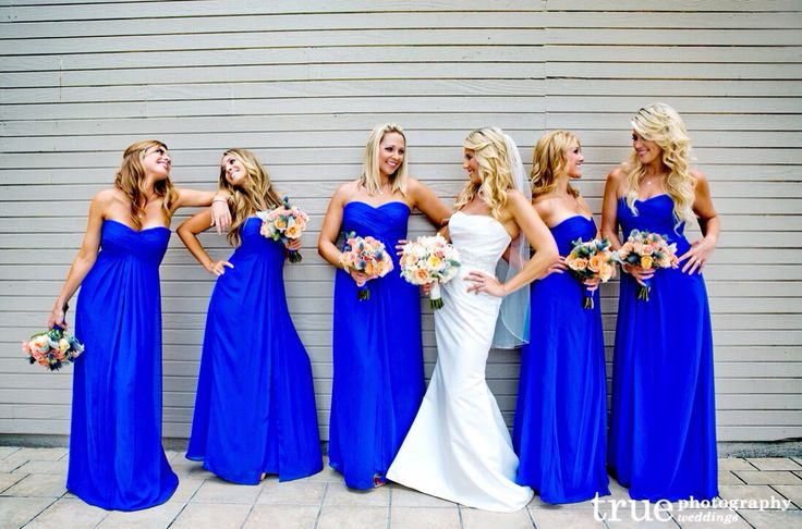 The Best Colors for Bridesmaid Dresses