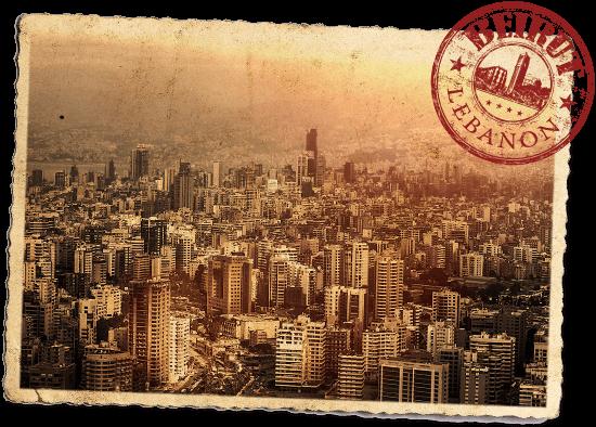 Downtown Beirut Postcard