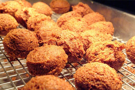 Falafel in the oven