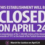 Zankou Chicken will be Closed on April 24