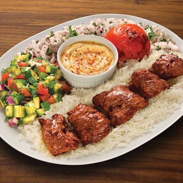 13. Shish Kabob Plate