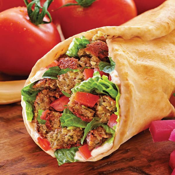 9. Falafel Wrap