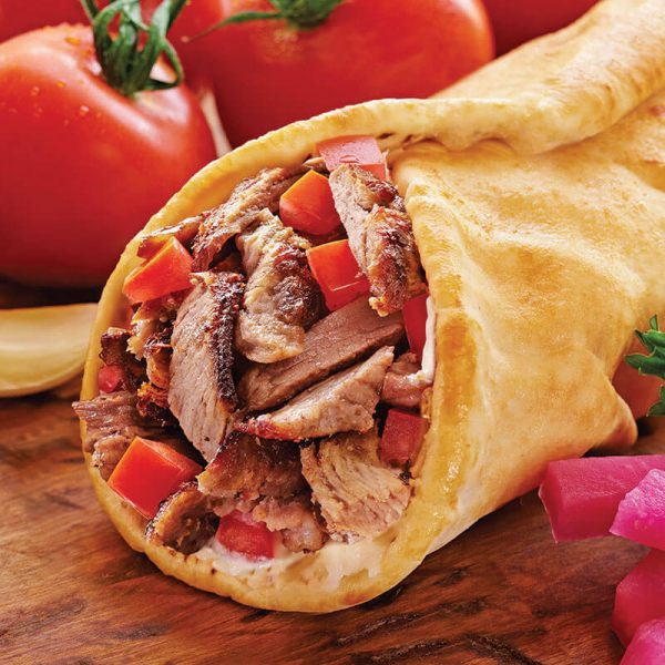 7. Tri-Tip Shawerma Wrap