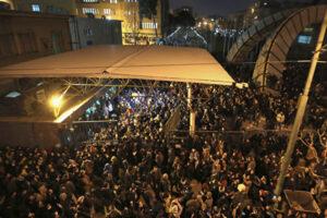伊朗抗议民众