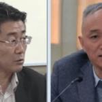 中国疾控中心主任高福(左)、北京市委书记蔡奇(右)(图片来源:网络)