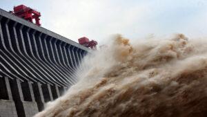 三峡 泄洪