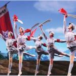 白毛女,红色娘子军等文革红剧